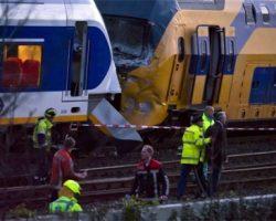 Treinbotsing treinongeluk treinongeval