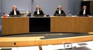 Strafkamer rechtbank Overijssel in Almelo