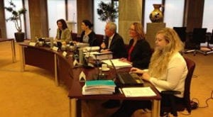Bezwarencommissie Haaksbergen, foto: RTV-Oost
