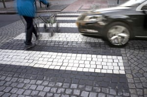 voetgangersongeval, ongeval voetganger