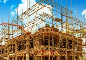 Ongeval in de bouw