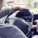 mobiel bellen auto
