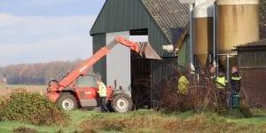 Bedrijfsongeval in de landbouw